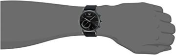 Emporio Armani Herren Analog Quarz Uhr mit Silikon Armband ART3016 - 2