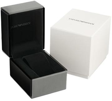 Emporio Armani Herren Analog Quarz Uhr mit Silikon Armband ART3016 - 3