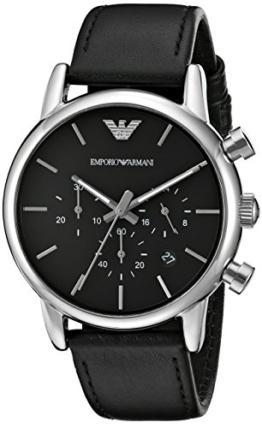 Emporio Armani Herren-Uhren AR1733, 41 mm, schwarz - 1