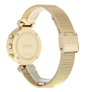 Hugo BOSS Damen Analog Quarz Uhr mit Edelstahl Armband 1502425 - 3