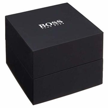 Hugo Boss Herren-Armbanduhr 44mm Armband Kalbsleder Braun Quarz 1512447 - 2