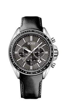 Hugo Boss Herren-Armbanduhr XL Chronograph Quarz Leder 1513085 - 1