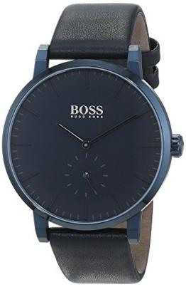 Hugo BOSS Herren Datum klassisch Quarz Uhr mit Leder Armband 1513502 - 1