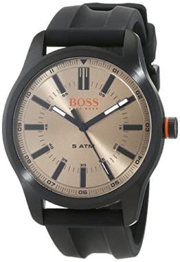 Hugo Boss Orange Herren-Armbanduhr Quartz mit  Silikon Armband 1550045 - 1