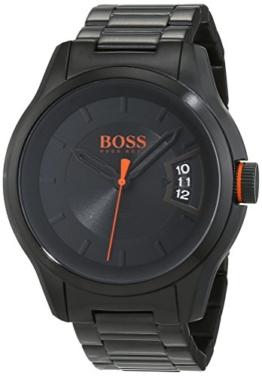 Hugo Boss Orange Hong Kong Herren-Armbanduhr Analog mit Edelstahl Armband 1550005 - 1
