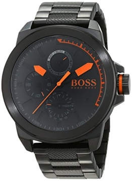 Hugo Boss Orange New York Herren-Armbanduhr Quartz mit Edelstahl Armband 1513157 - 1