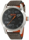 Hugo Boss Orange Oslo Herren-Armbanduhr Quartz mit Leder Armband 1513417 - 1
