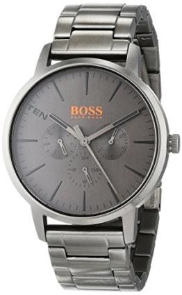 Hugo Boss Orange Unisex-Armbanduhr Analog mit Edelstahl Armband 1550068 - 1