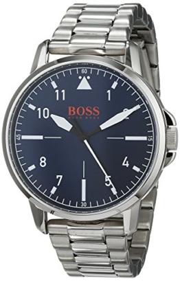 Hugo Boss Orange Unisex-Armbanduhr - Analog Quarz Uhr mit Edelstahl Armband 1550063 - 1