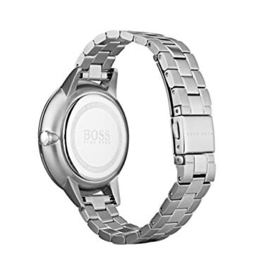 Hugo BOSS Unisex Multi Zifferblatt Quarz Uhr mit Edelstahl Armband 1502421 - 2