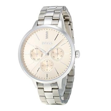 Hugo BOSS Unisex Multi Zifferblatt Quarz Uhr mit Edelstahl Armband 1502421 - 3
