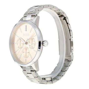 Hugo BOSS Unisex Multi Zifferblatt Quarz Uhr mit Edelstahl Armband 1502421 - 4