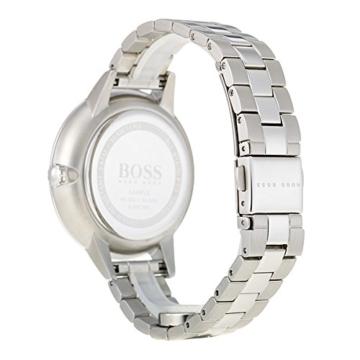 Hugo BOSS Unisex Multi Zifferblatt Quarz Uhr mit Edelstahl Armband 1502421 - 5