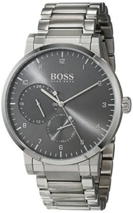 Hugo BOSS Unisex Multi Zifferblatt Quarz Uhr mit Edelstahl Armband 1513596 - 1