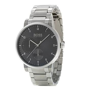 Hugo BOSS Unisex Multi Zifferblatt Quarz Uhr mit Edelstahl Armband 1513596 - 2