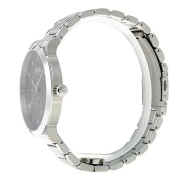 Hugo BOSS Unisex Multi Zifferblatt Quarz Uhr mit Edelstahl Armband 1513596 - 3