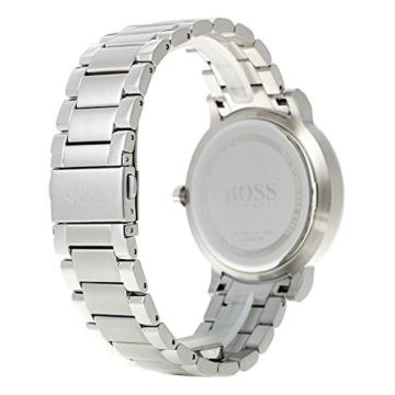 Hugo BOSS Unisex Multi Zifferblatt Quarz Uhr mit Edelstahl Armband 1513596 - 5
