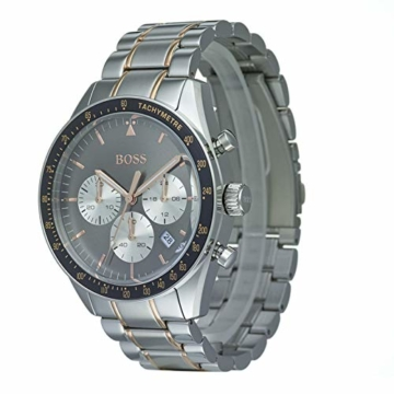 Hugo Boss Watch Herren Chronograph Quarz Uhr mit Edelstahl Armband 1513634 - 2