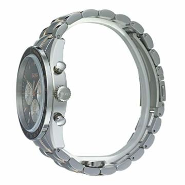 Hugo Boss Watch Herren Chronograph Quarz Uhr mit Edelstahl Armband 1513634 - 3