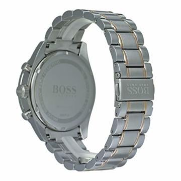 Hugo Boss Watch Herren Chronograph Quarz Uhr mit Edelstahl Armband 1513634 - 4