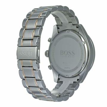 Hugo Boss Watch Herren Chronograph Quarz Uhr mit Edelstahl Armband 1513634 - 5