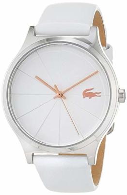 Lacoste Damen Analog Quarz Uhr mit Leder Armband 2001040 - 1