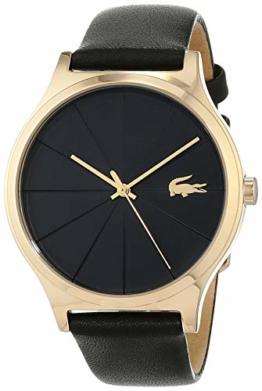 Lacoste Damen Analog Quarz Uhr mit Leder Armband 2001041 - 1