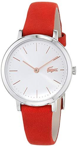 Lacoste Damen Analog Quarz Uhr mit Leder Armband 2001048 - 1