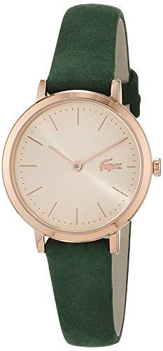 Lacoste Damen Analog Quarz Uhr mit Leder Armband 2001050 - 1