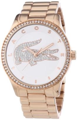 Lacoste Damen-Armbanduhr Analog Quarz Edelstahl 2000828 - 1