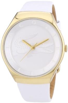 Lacoste Damen-Armbanduhr Analog Quarz Leder 2000763 - 1