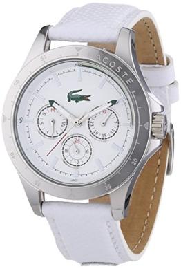 Lacoste Damen-Armbanduhr MACKAY Analog Quarz Leder 2000846 - 1
