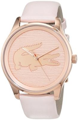 Lacoste Damen-Armbanduhr Quarz mit Leder Armband 2000997 - 1