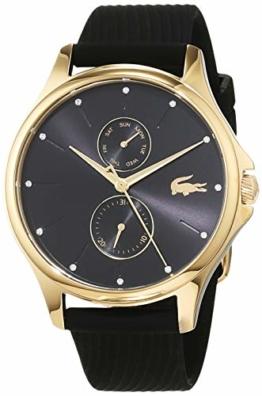 Lacoste Damen Multi Zifferblatt Quarz Uhr mit Silikon Armband 2001052 - 1