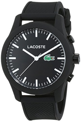 Lacoste Herren Analog-Digital Quarz Uhr mit Silikon Armband 2010881 - 1