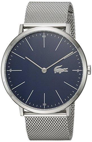 Lacoste Herren-Armbanduhr 40mm Armband Edelstahl + Gehäuse Batterie 2010900 - 1