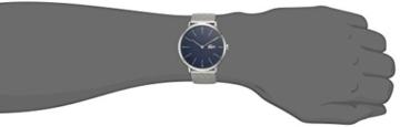 Lacoste Herren-Armbanduhr 40mm Armband Edelstahl + Gehäuse Batterie 2010900 - 2