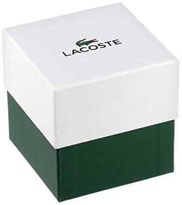 Lacoste Herren-Armbanduhr 40mm Armband Edelstahl + Gehäuse Batterie 2010900 - 3