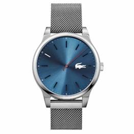 Lacoste Herren-Armbanduhr 40mm Armband Edelstahl + Gehäuse Quarz 2010966 - 1