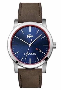 Lacoste Herren-Armbanduhr Analog Quarz Leder 2010848 - 1