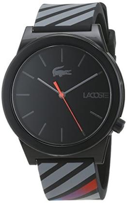 Lacoste Herren Datum klassisch Quarz Uhr mit Silikon Armband 2010936 - 1