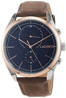 Lacoste Herren Multi Zifferblatt Quarz Uhr mit Leder Armband 2010917 - 1