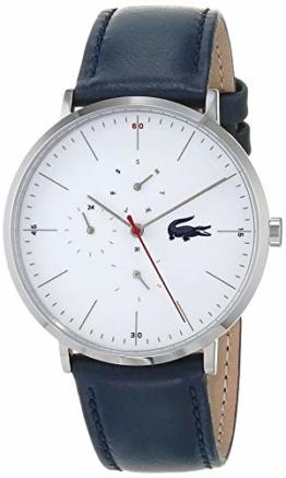 Lacoste Herren Multi Zifferblatt Quarz Uhr mit Leder Armband 2010975 - 1