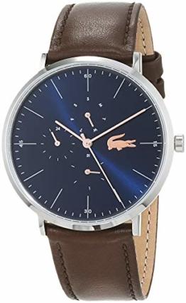 Lacoste Herren Multi Zifferblatt Quarz Uhr mit Leder Armband 2010976 - 1