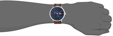 Lacoste Herren Multi Zifferblatt Quarz Uhr mit Leder Armband 2010976 - 2