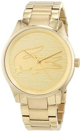 Lacoste Unisex Analog Quarz Uhr mit Edelstahl Armband 2001016 - 1