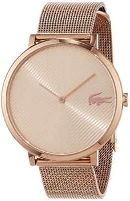 Lacoste Unisex Analog Quarz Uhr mit Edelstahl Armband 2001028 - 1