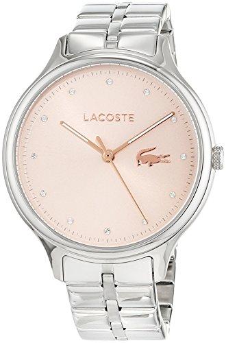 Lacoste Unisex Analog Quarz Uhr mit Edelstahl Armband 2001031 - 1