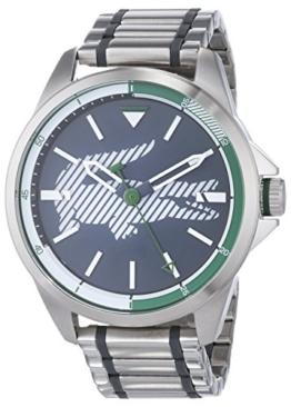 Lacoste Unisex Analog Quarz Uhr mit Edelstahl Armband 2010943 - 1