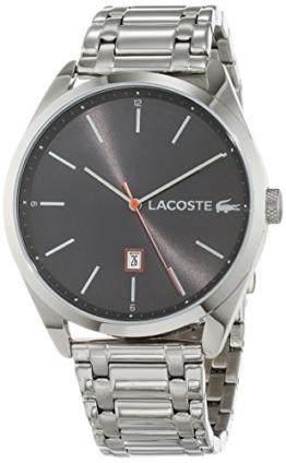Lacoste Unisex Analog Quarz Uhr mit Edelstahl Armband 2010959 - 1